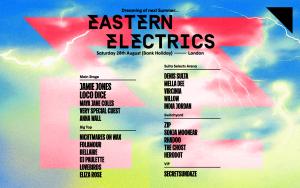 Screenshot of the Eastern Electrics website
