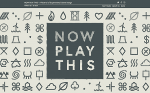 Screenshot of the Now Play This website