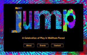 Screenshot of the Jump website